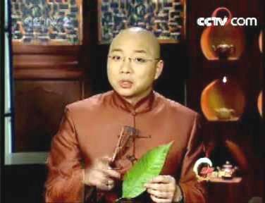 中央二台《财富故事会》王凯对古庭风叶脉画报道